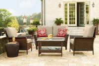 Ty Pennington Style Parkside 4 Piece Deep Seating Set ...