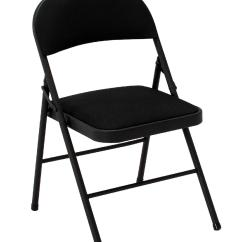 Black Padded Folding Chairs Unusual Chair Ideas Kmart