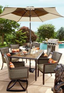 Ty Pennington Style Madison 7 Piece Patio Dining