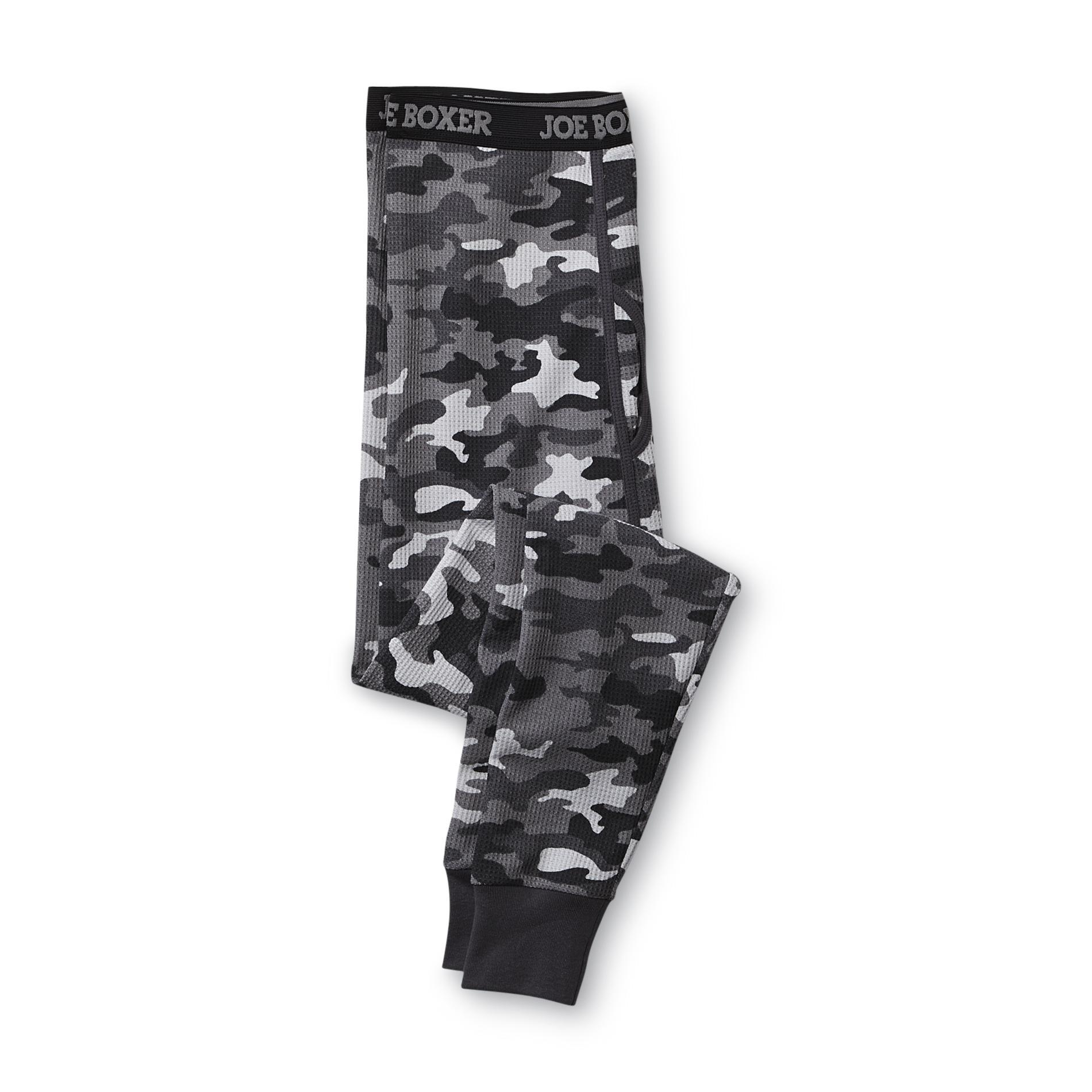 Joe Boxer Men' Camouflage Thermal Long Underwear