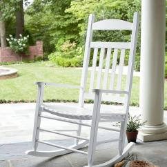 Outdoor Wooden Rocking Chairs White Blow Up Essential Garden Porch Rocker Living