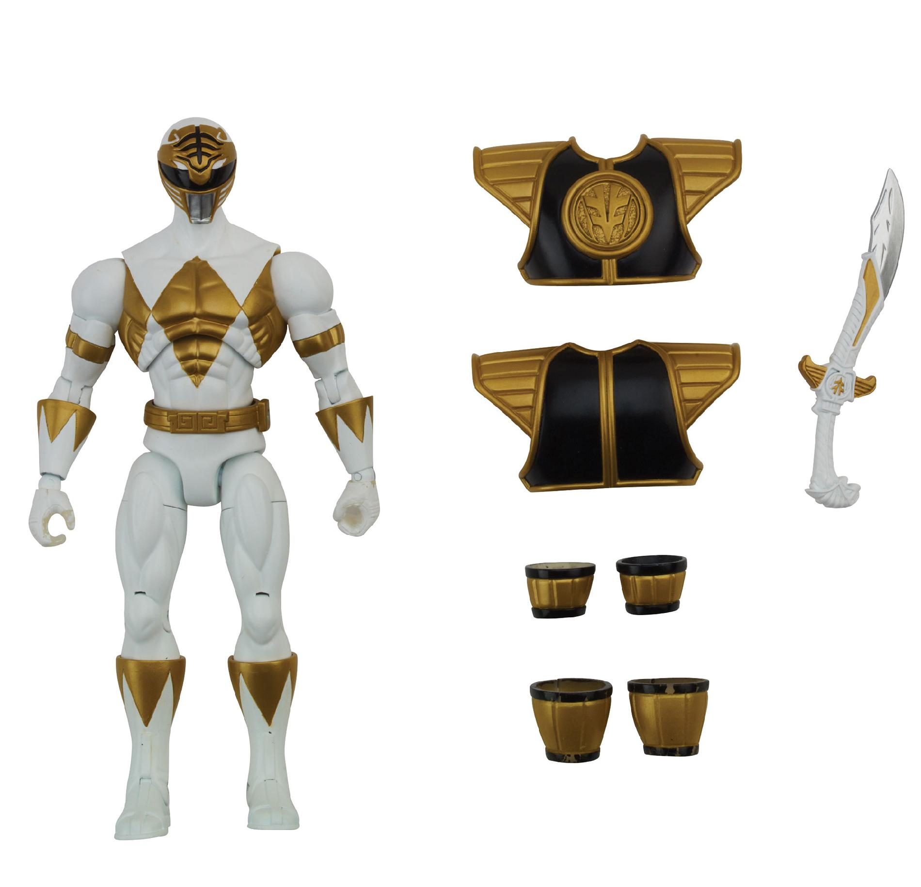 Power Rangers Armored Mighty Morphin White Ranger - Toys