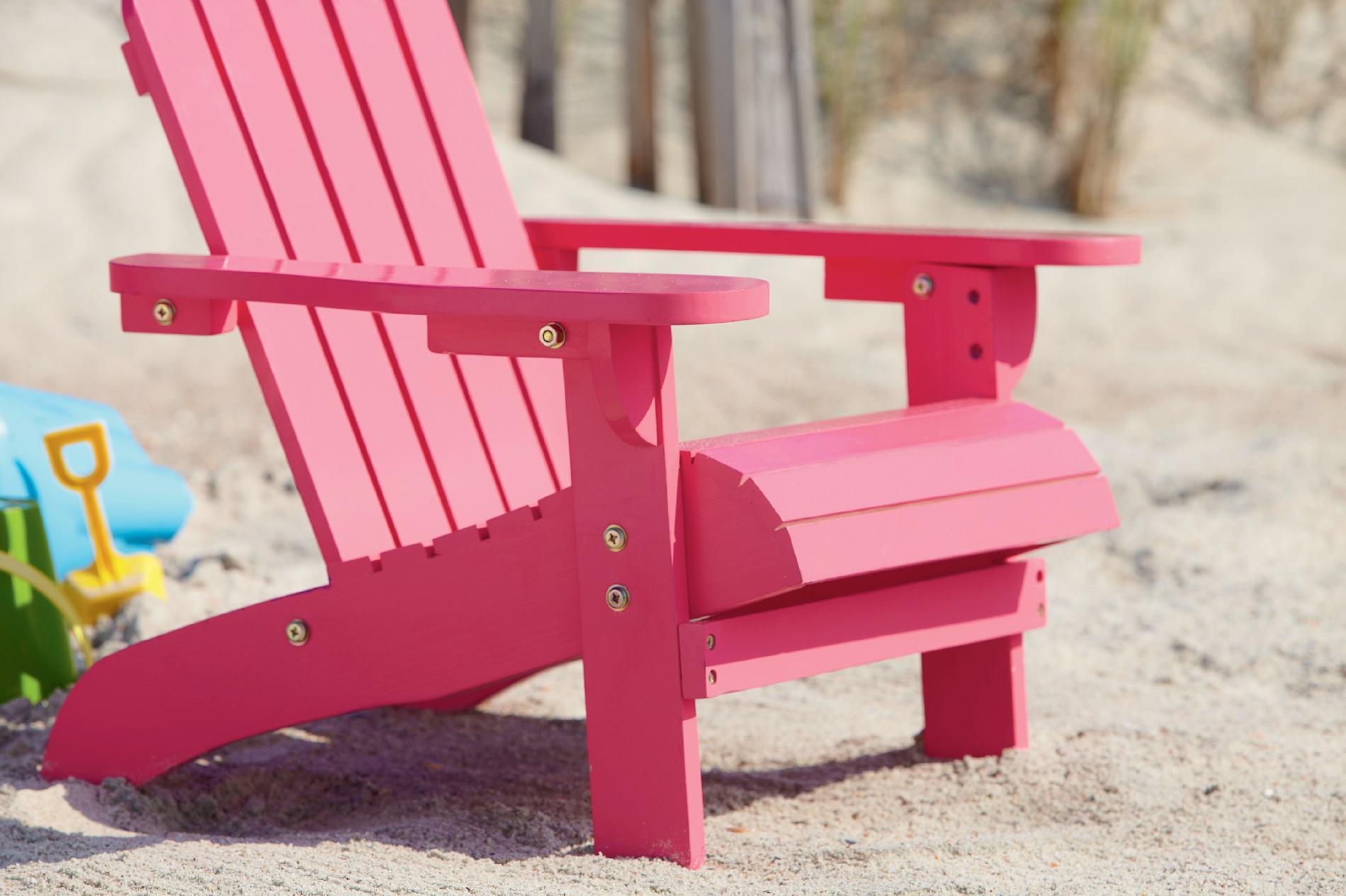 kids outdoor chair round garden oasis adirondack pink living patio 2