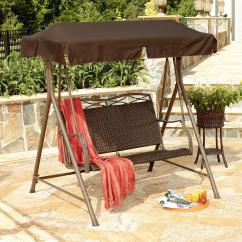Swing Chair Local Power Lift Medicare Garden Oasis Resin Wicker Patio Limited