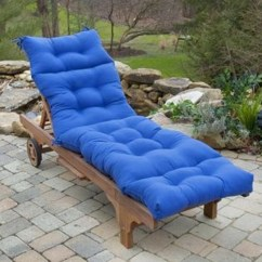 Blue Lounge Chair Cushions M S Dining Greendale Home Fashions 72 In Outdoor Chaise Lounger