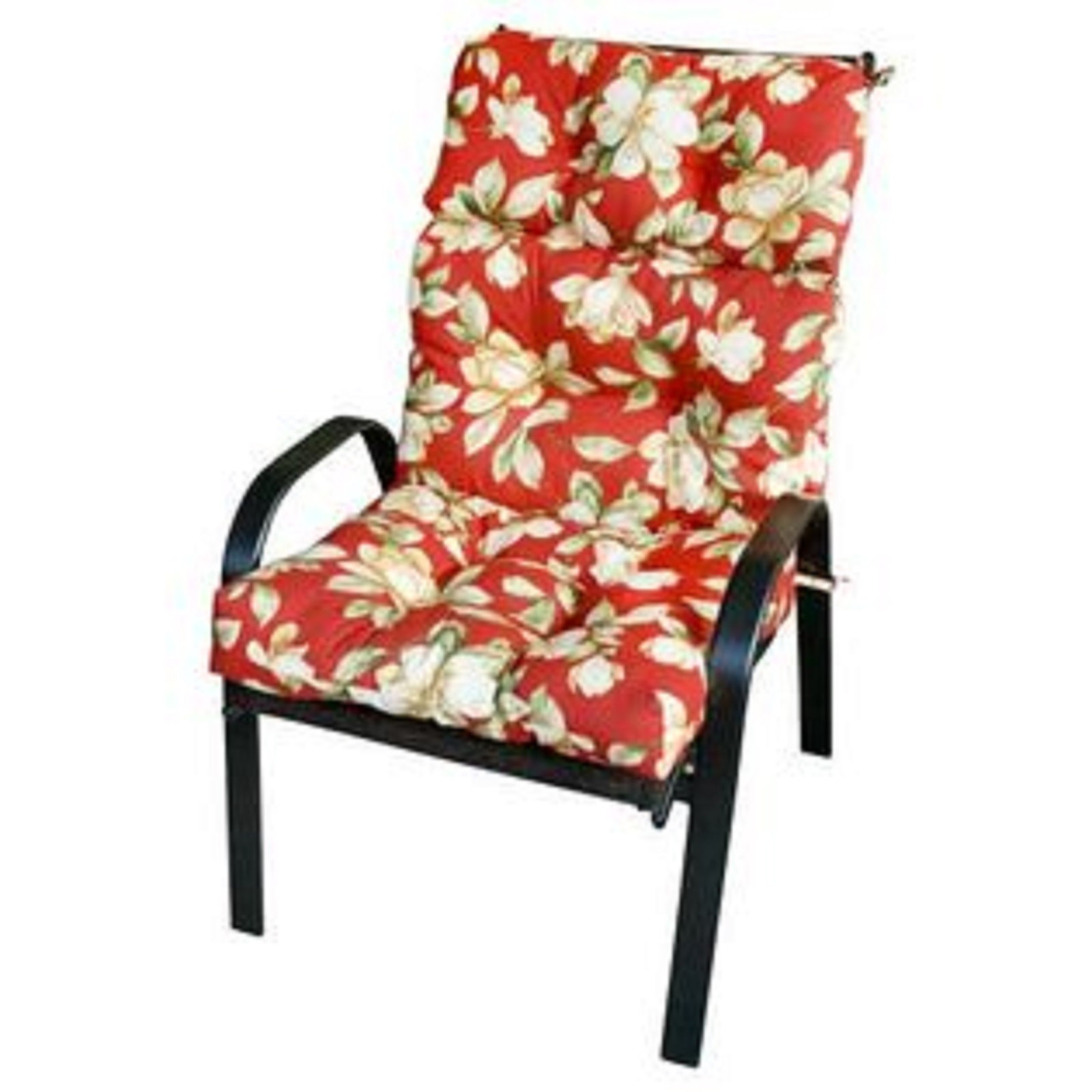 high backed chair cushions wheelchair van lift greendale home fashions outdoor back cushion