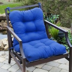 Blue Chair Pads Party Chairs And Tables For Rent Greendale Home Fashions Marlow Outdoor Seat Back