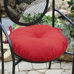 Round Chair Pad Caster Dining Room Chairs Outdoor Cushion Kmart