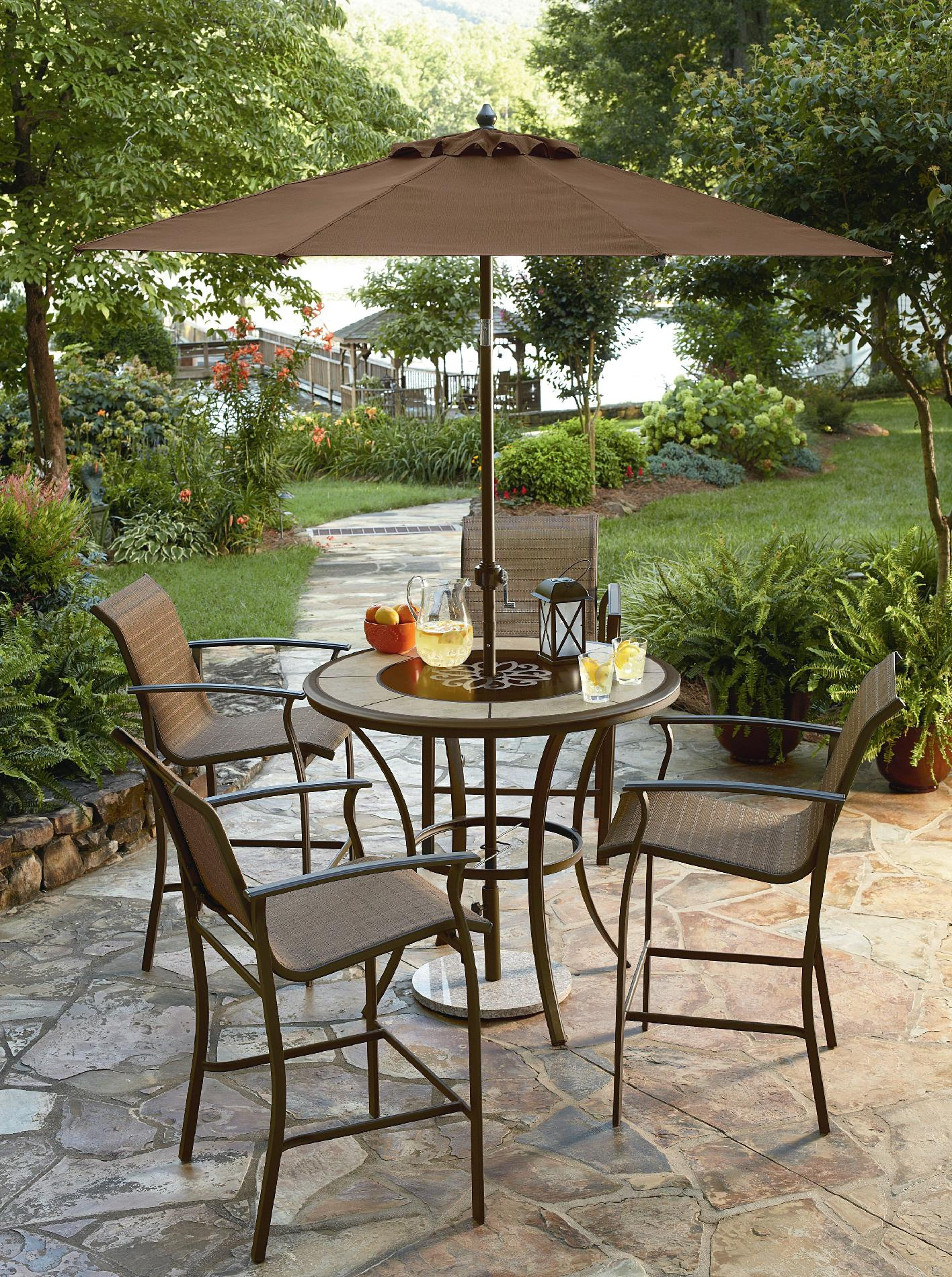 Essential Garden Welles Bar Table Limited Availability
