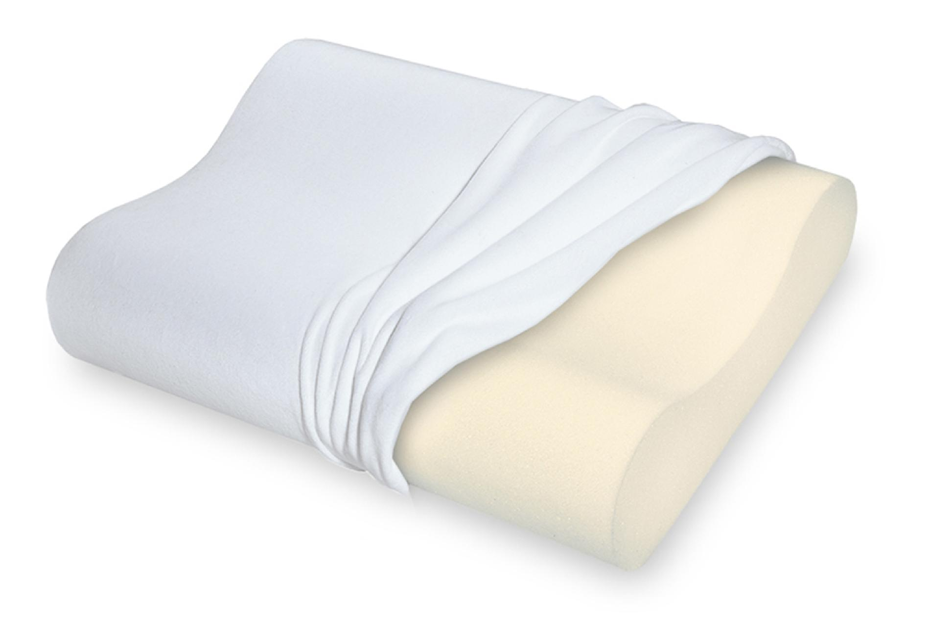 Sleep Innovations Touch of Comfort Gel Memory Foam Pillow