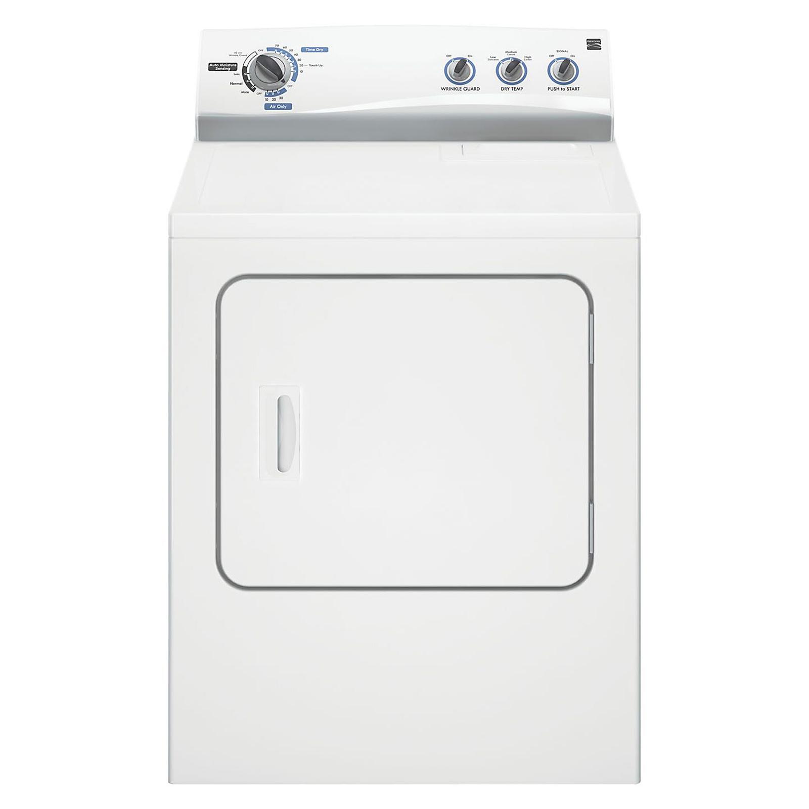 kenmore electric dryer 6 cu ft 61252 sears [ 1600 x 1600 Pixel ]