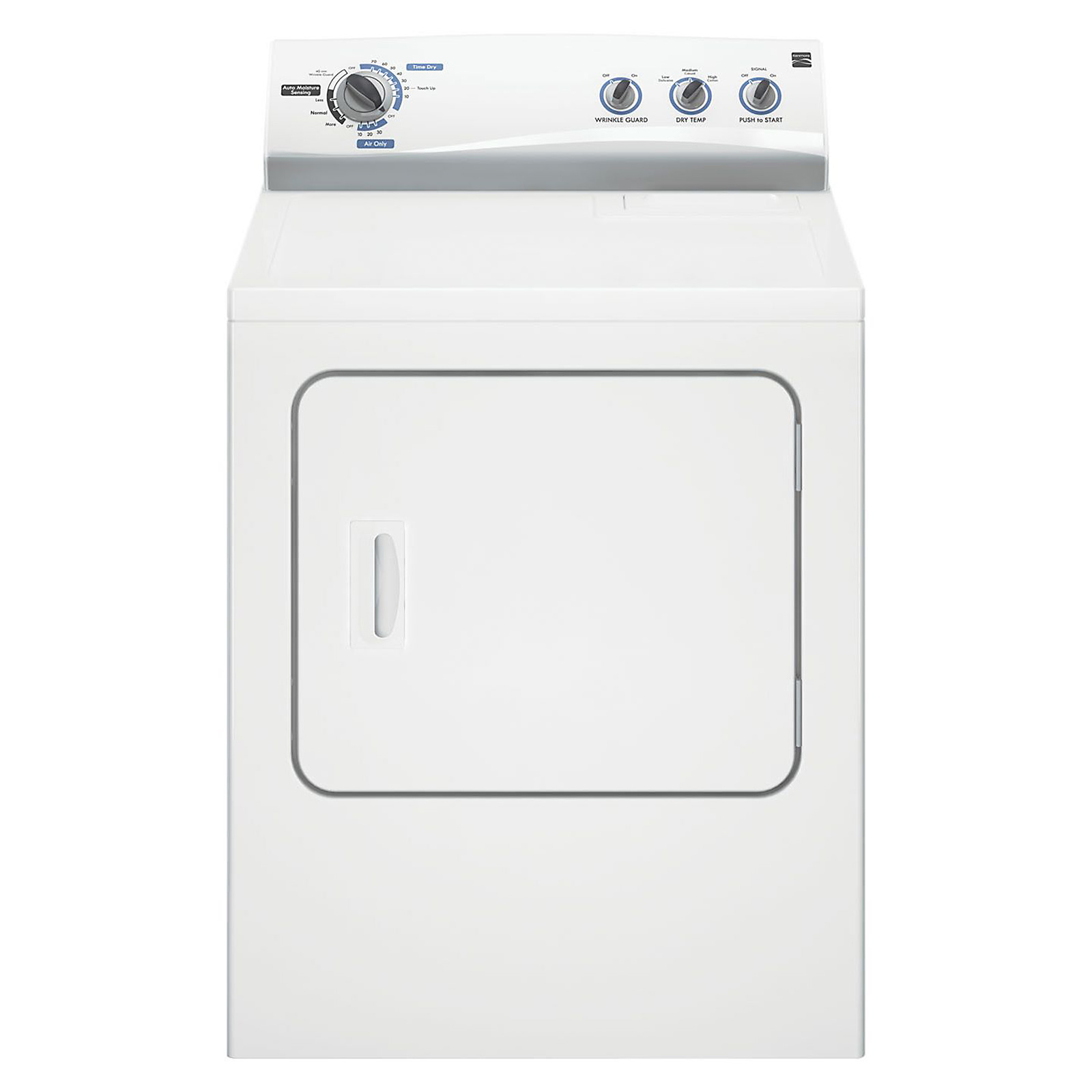 small resolution of kenmore electric dryer 6 cu ft 61252 sears