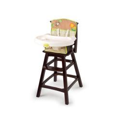 Safari High Chair Step 2 Table And Set Summer Infant Swingin Classic Comfort Wood Espresso