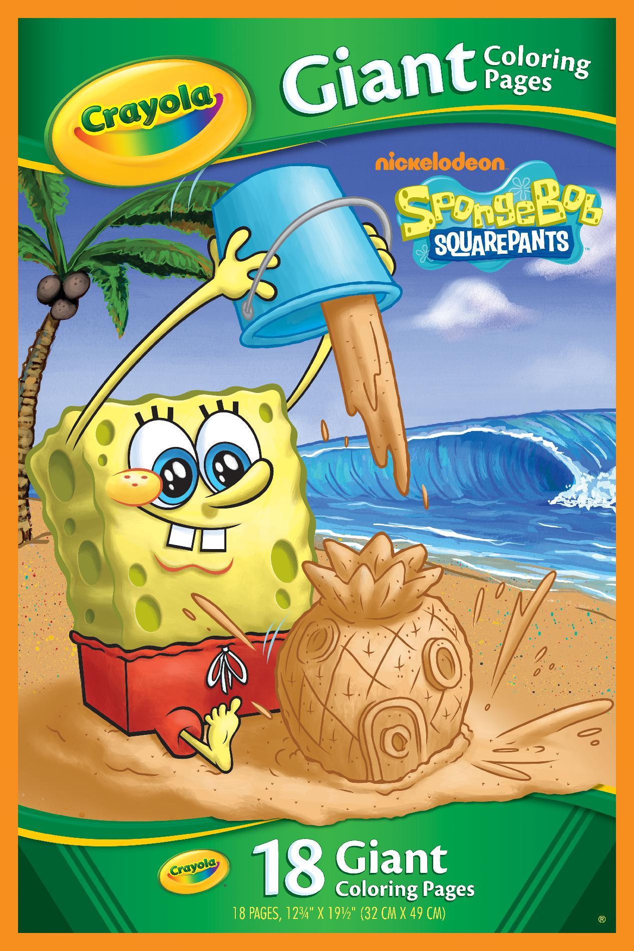 Nickelodeon 18 Page Spongebob Coloring Book