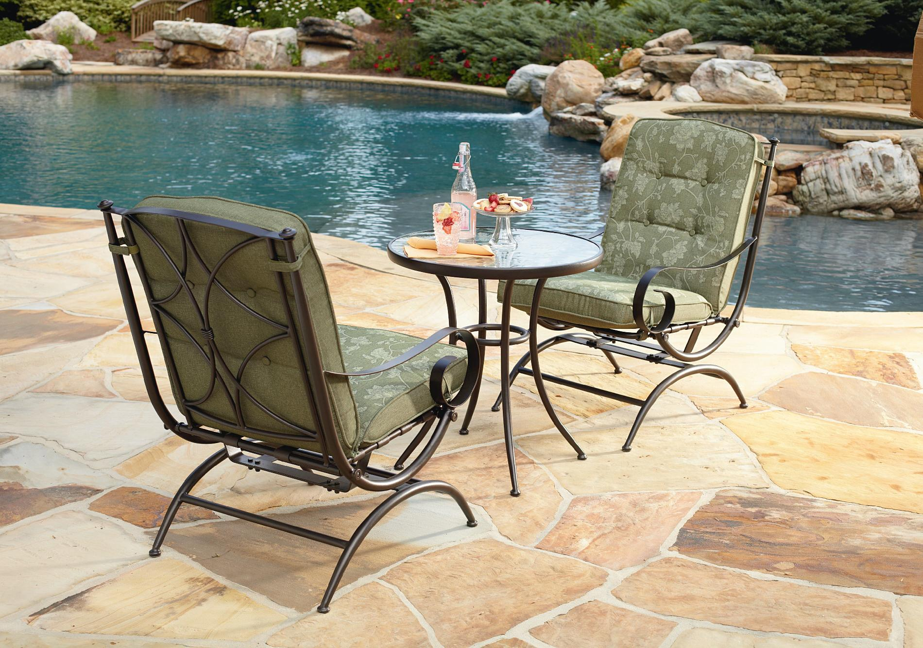 Jaclyn Smith Cora 3 Piece Bistro Set Limited Availability