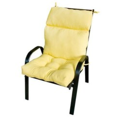 High Backed Chair Cushions Rubbermaid Philippines Greendale Home Fashions Outdoor Back Cushion