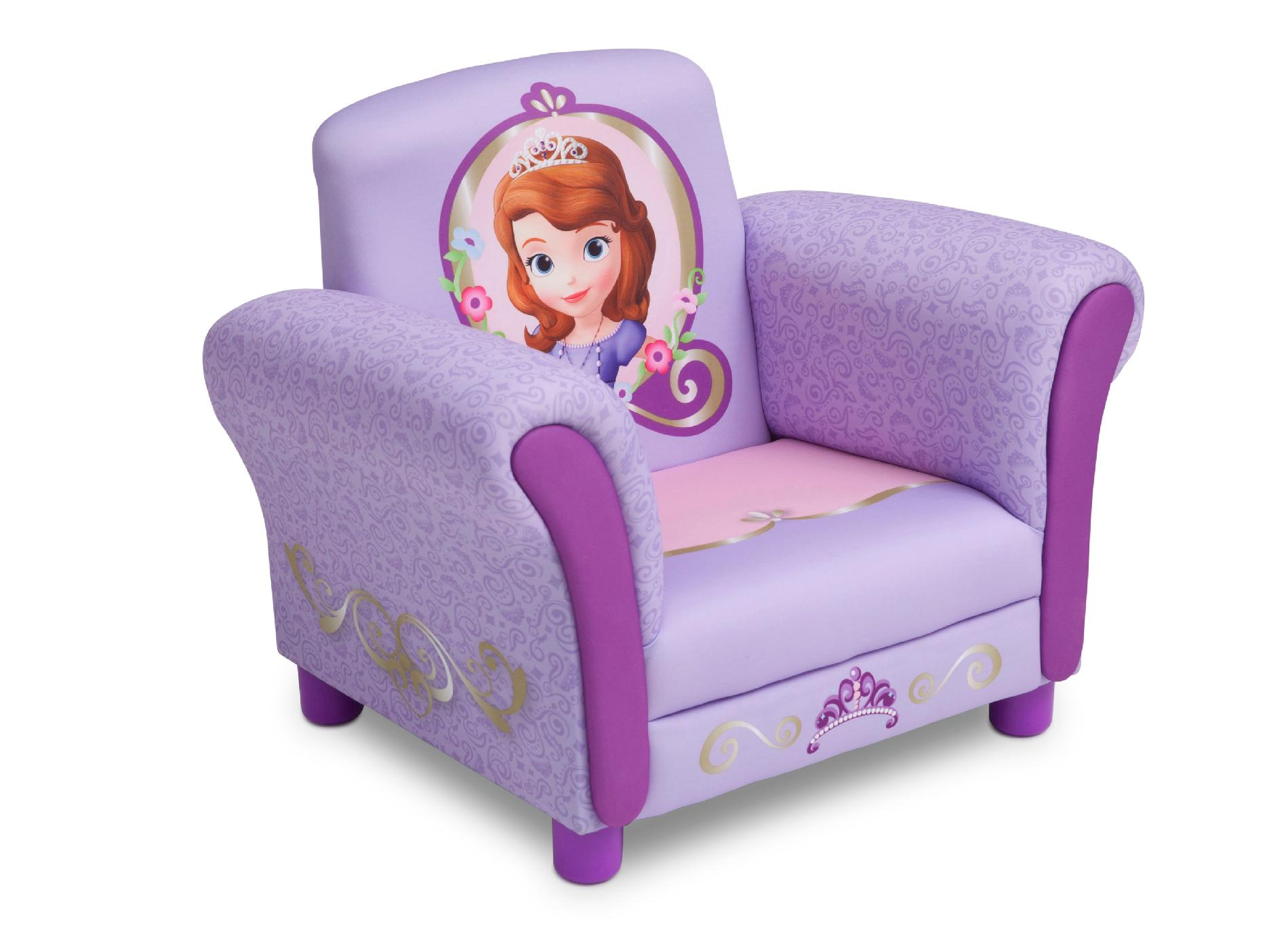 Princess Chairs For Toddlers Delta Children Disney Sofia The First Upholstered Chair