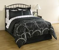 Essential Home Complete Bed Set - Interlocking Circles