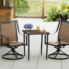 Bistro Table And Chairs Kmart Adirondack Chair Cushion La Z Boy Outdoor Ethan 3 Piece Set Living