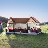 10 Person Weather Resistant Tent: Feel at Home Anywhere