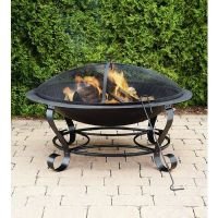 Garden Oasis 39 in. Round Fire Pit - Outdoor Living ...