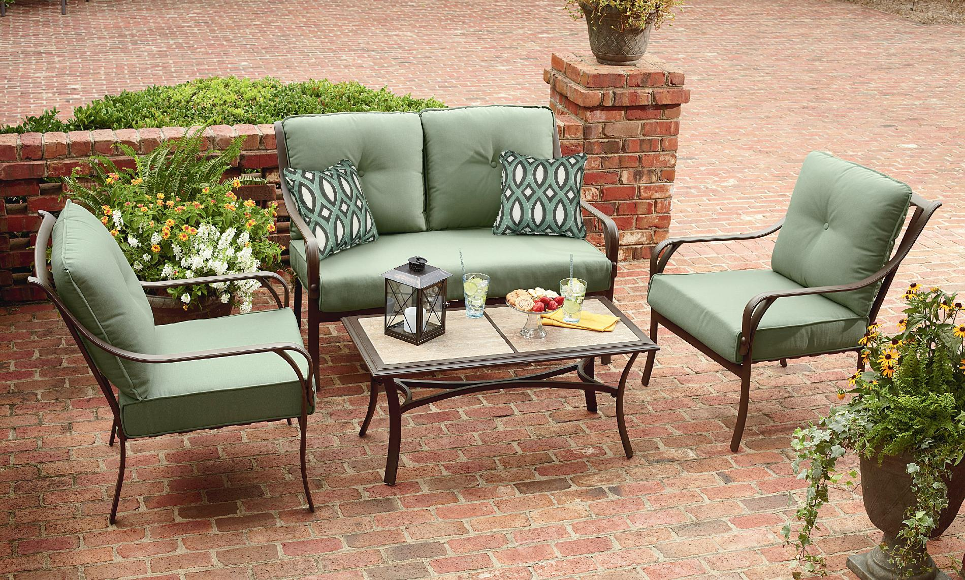 Grand Harbor Anderson 4 Piece Seating *Limited