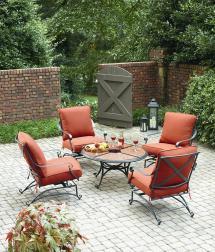Patio Chat Furniture Set