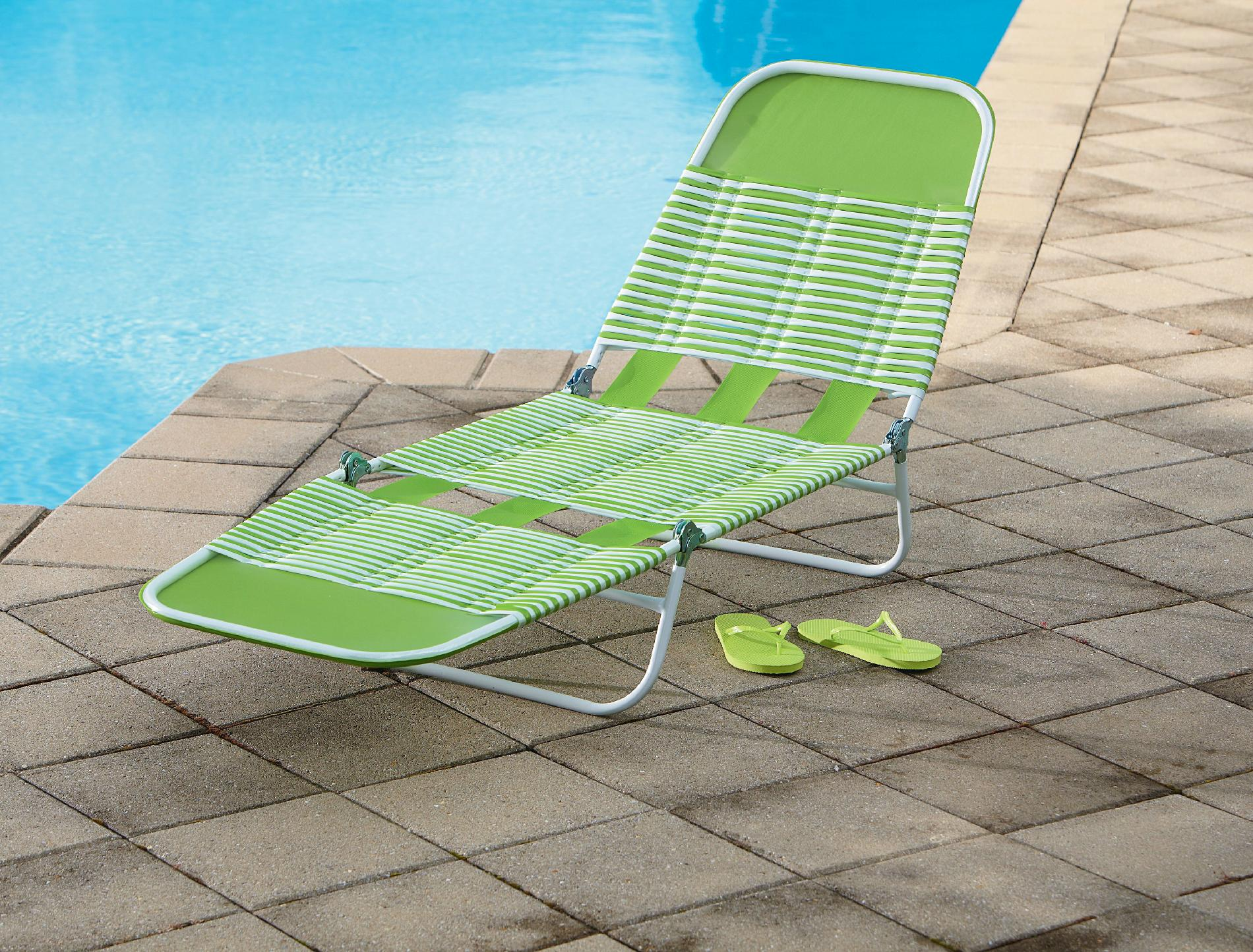 sears lounge chairs chair rental orlando essential garden pvc chaise lounge- green - outdoor living patio furniture
