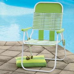 Sun Lounge Chairs Kmart Chair Covers For Lazy Boy Recliners Essential Garden Pvc Chair- Green - Outdoor Living Patio Furniture Chaise