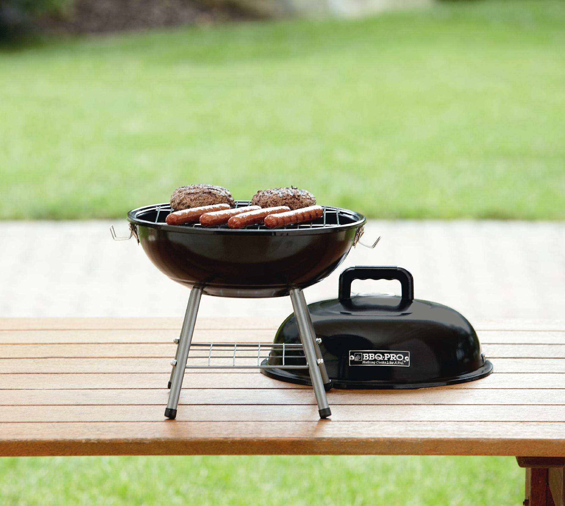 BBQ Pro Table Top Charcoal Grill