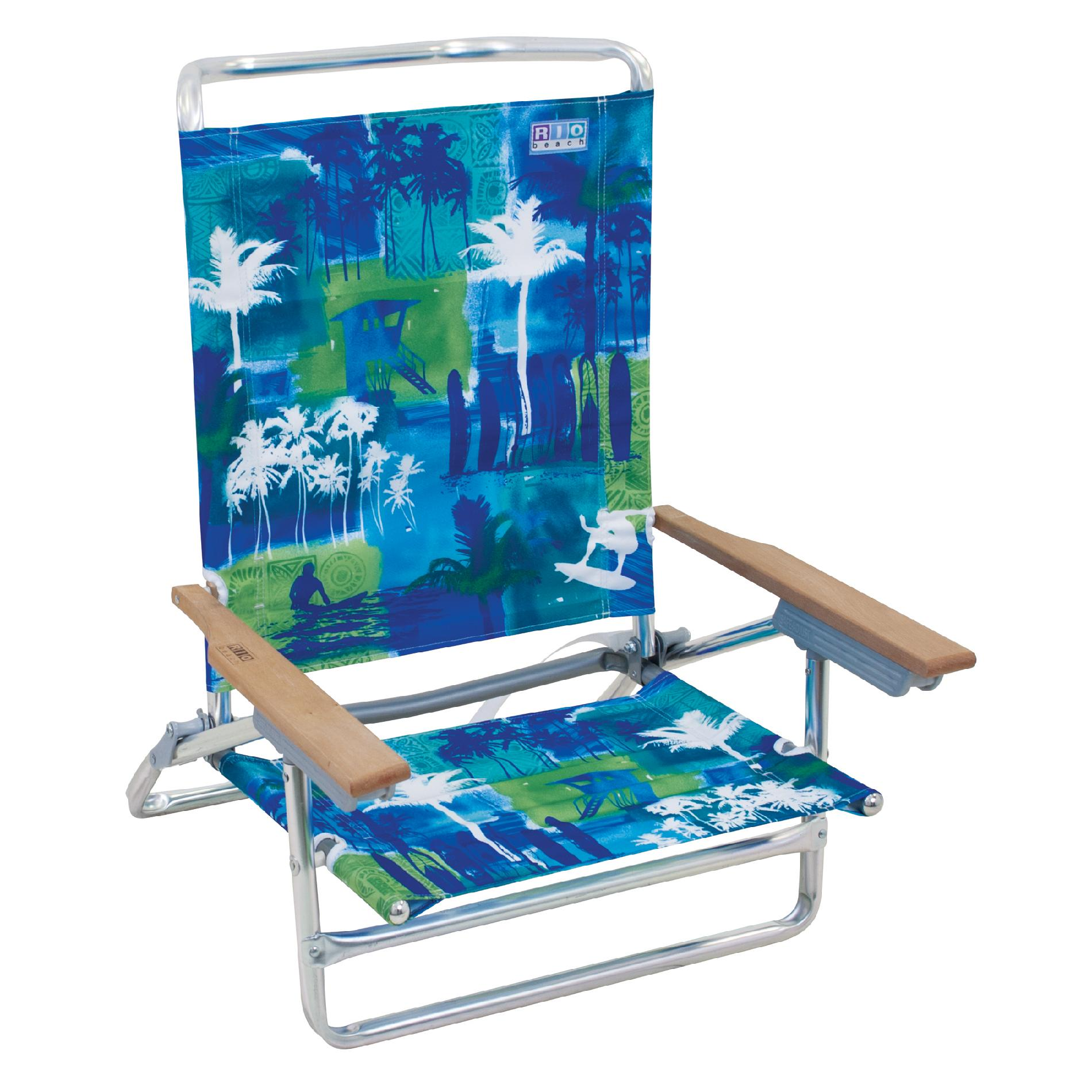 high back beach chair hanging garden rio 5 position deluxe outdoor