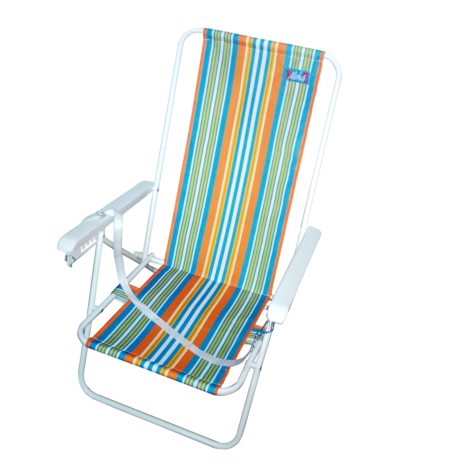 high back beach chair blue green dining chairs aloha brazil style outdoor living
