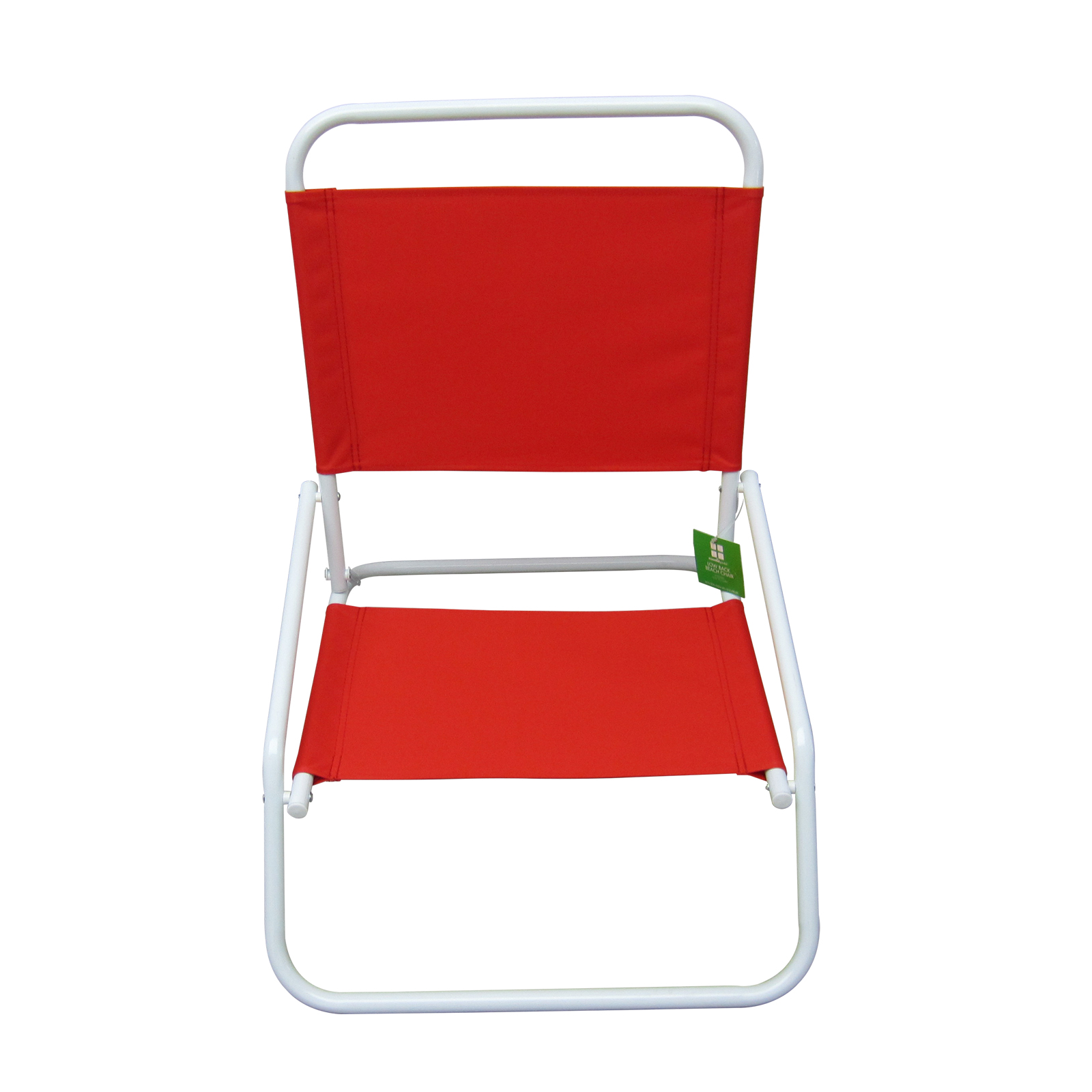 low back lawn chair church chairs wood frame essential garden beach solid red limited