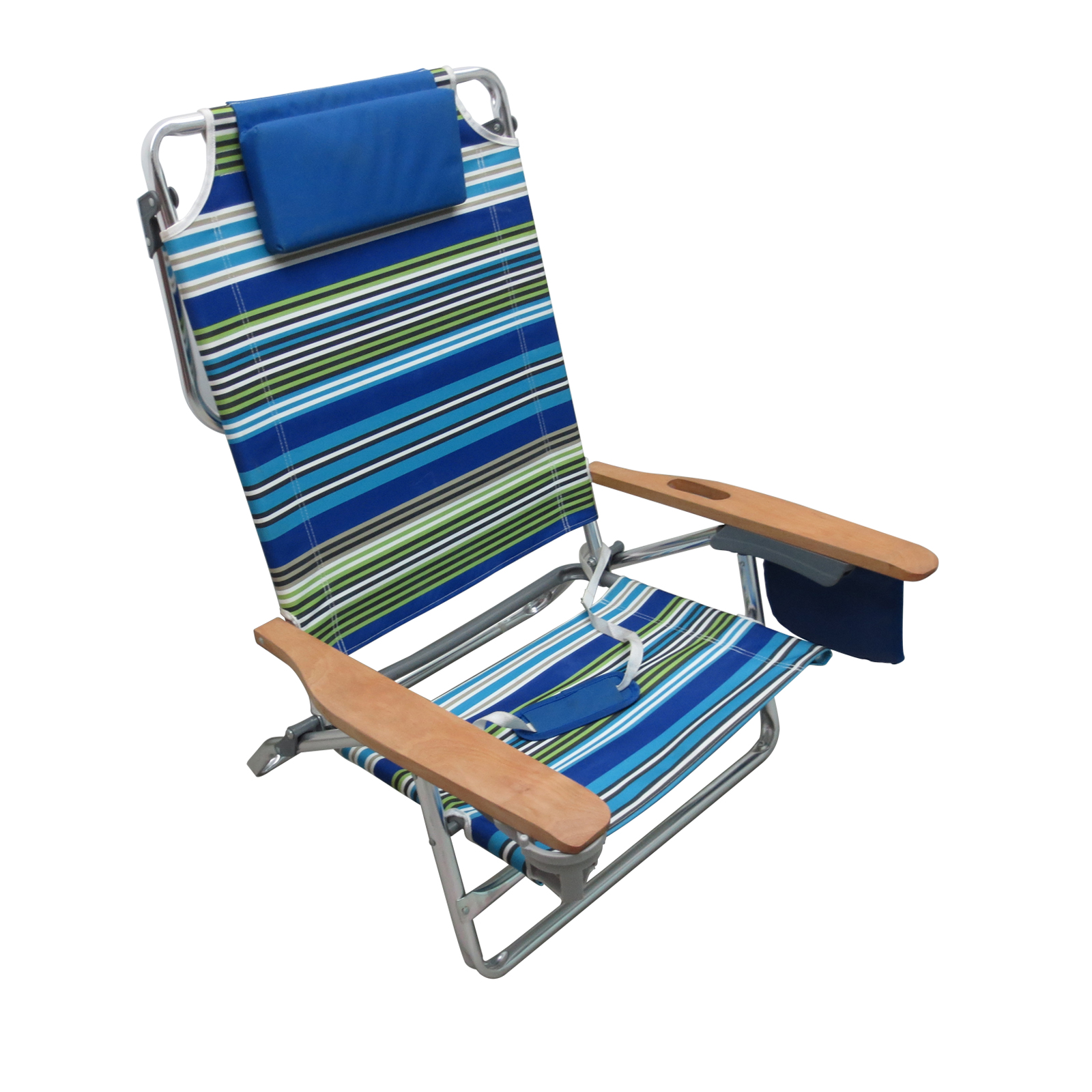 reclining beach chairs desk chair knees essential garden fully extra large 5 position limited availability alternate image
