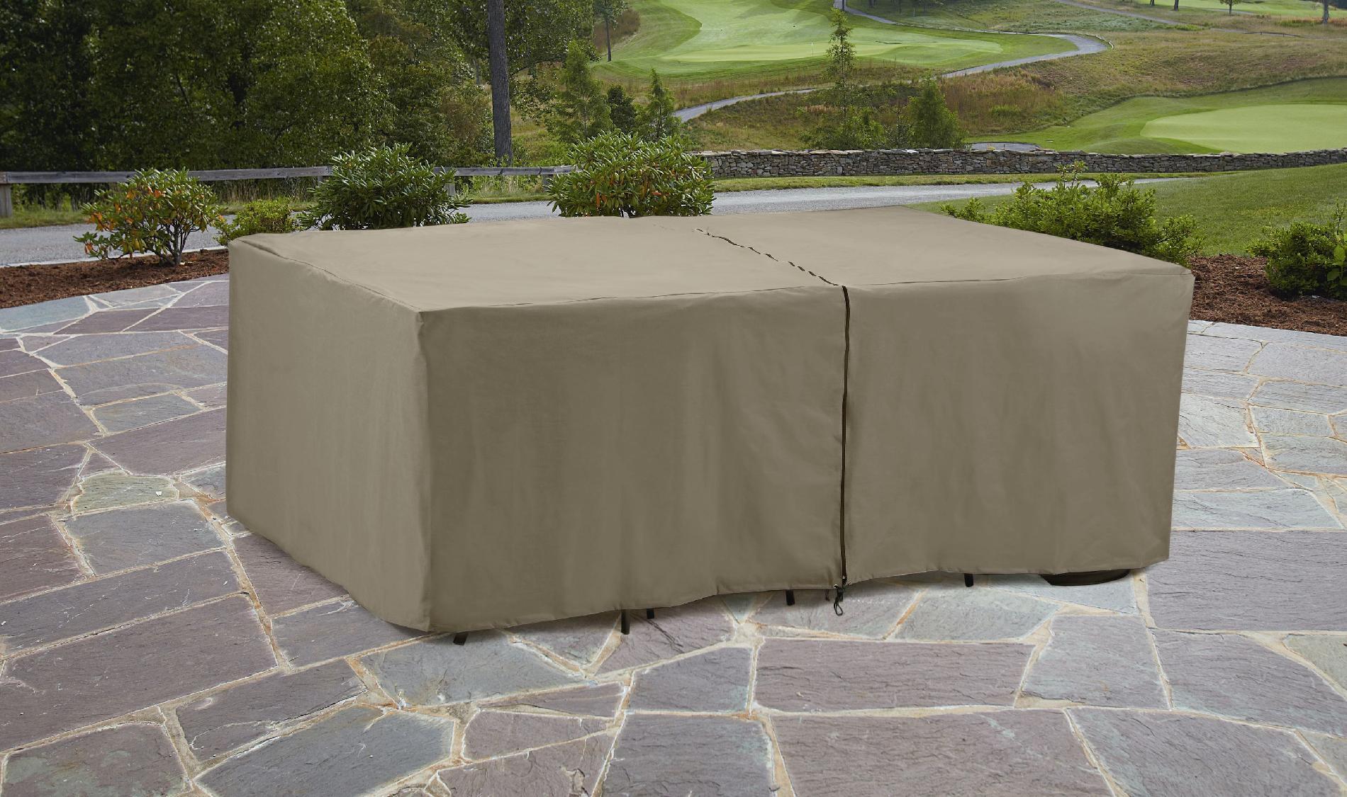 Garden Oasis Rectangle Patio Furniture Set Cover - Outdoor