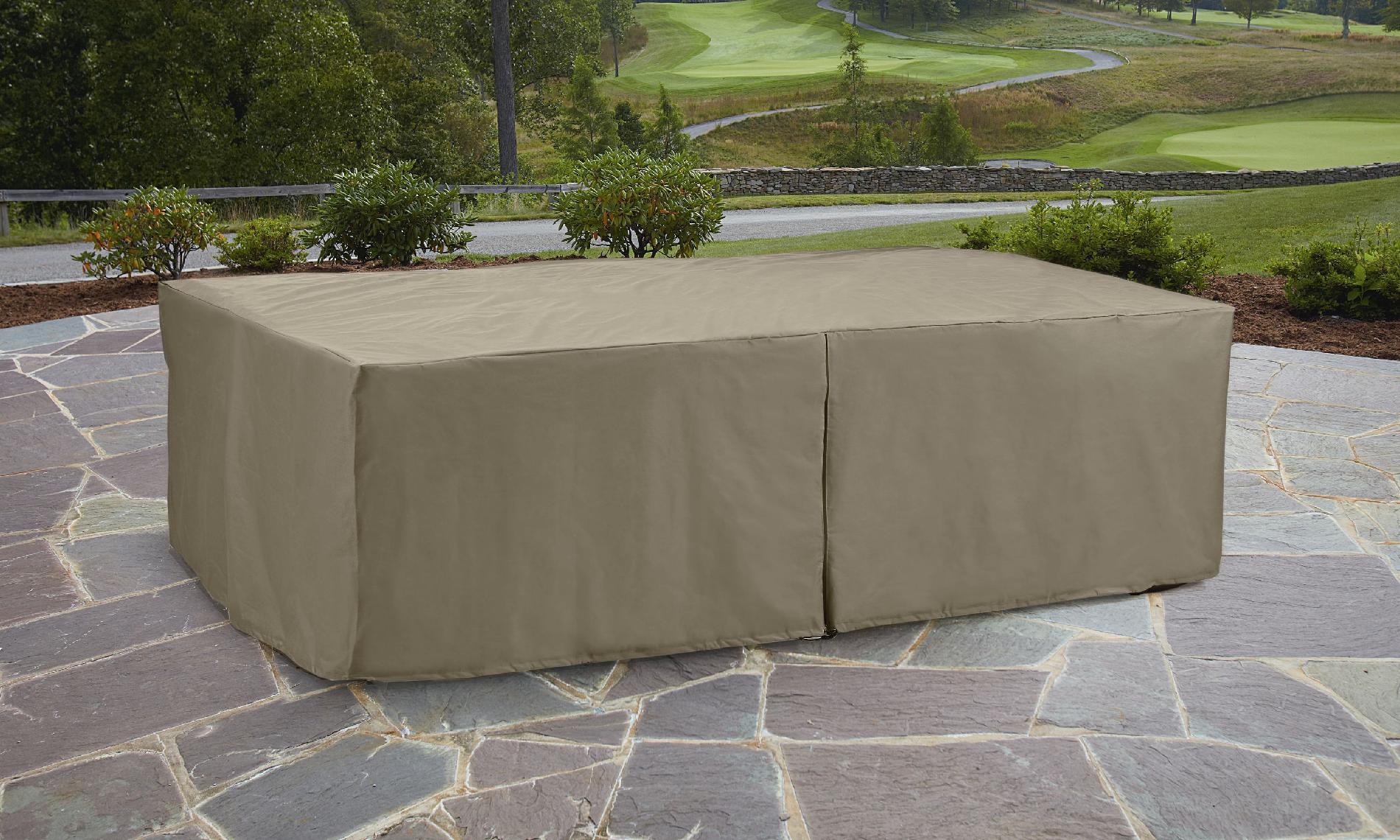 Garden Oasis Oversized Rectangle Patio Furniture Set Cover
