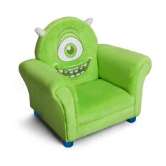 Childrens Upholstered Chair Wicker Wingback Chairs Delta Children Disney Pixar Monsters