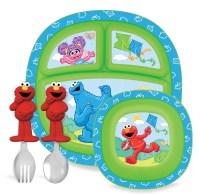 Munchkin Sesame Street Toddler Dining Set - Baby - Feeding ...