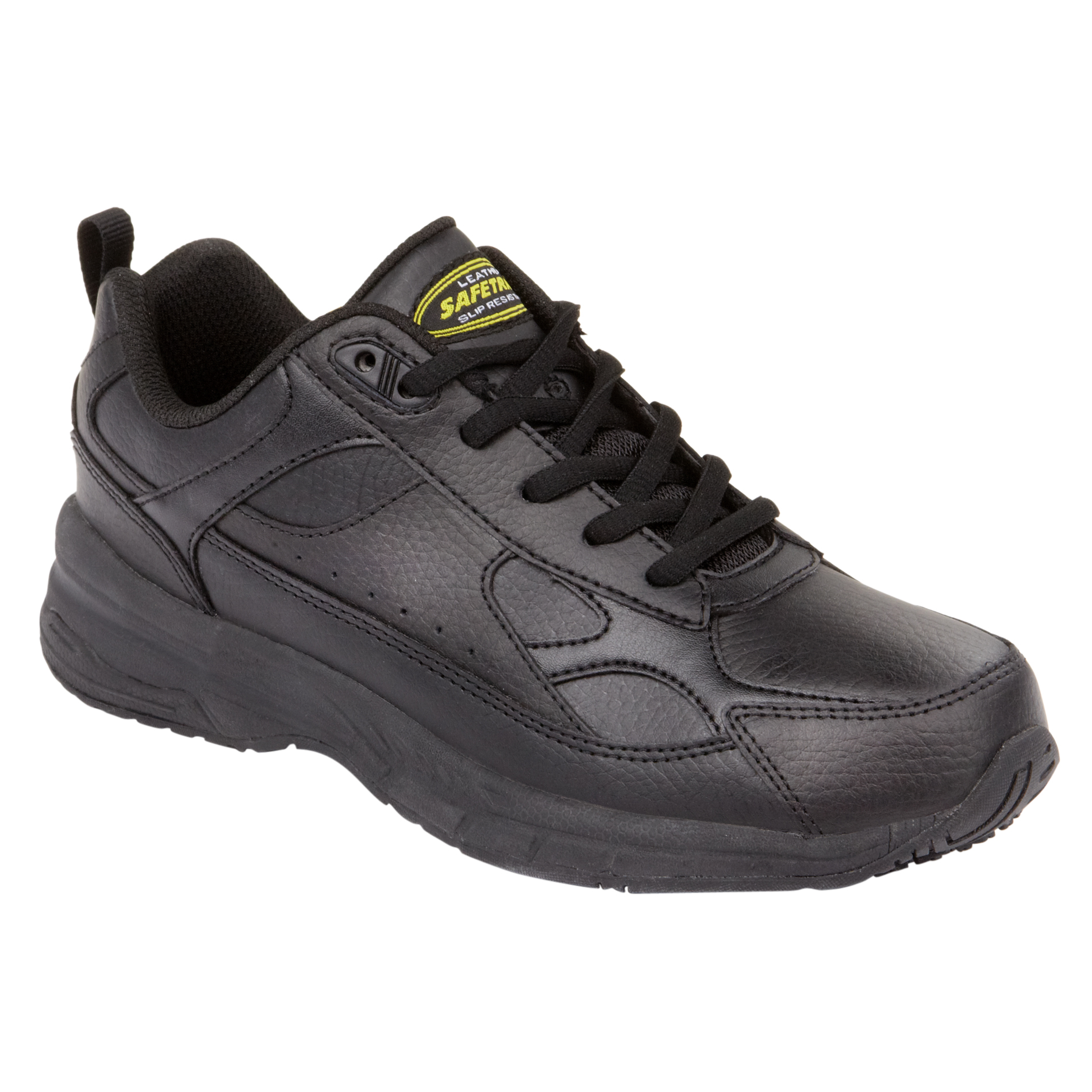 Womens Black Non Skid Work Shoes