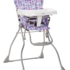 Cosco High Chair Cover White Wood Folding Chairs Bulk Slim Fold Marissa
