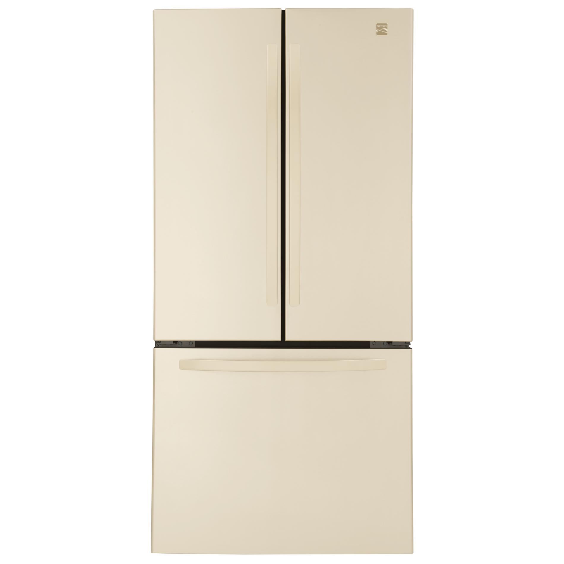 french door refrigerator bisque
