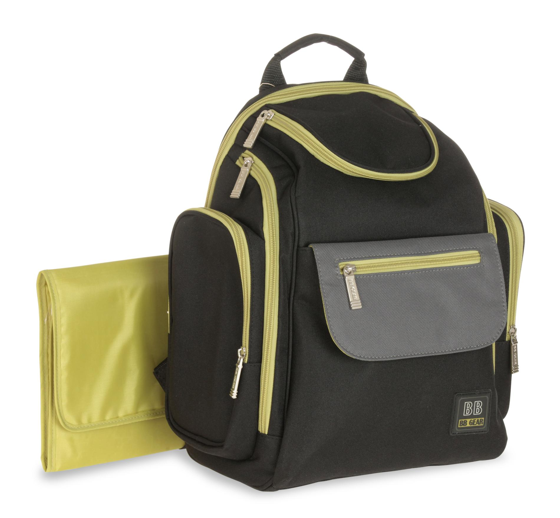 Baby Boom Quick Find Backpack Diaper Bag & Changing Pad