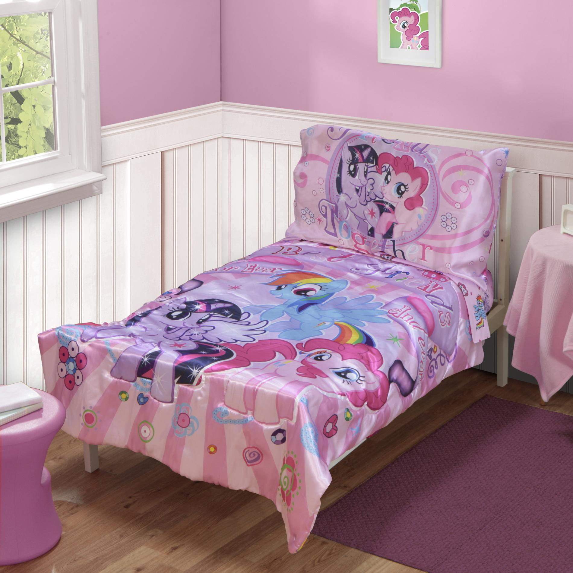 Little Pony 4-piece Toddler Girl' Bed Set - Baby Bedding Sets & Collections