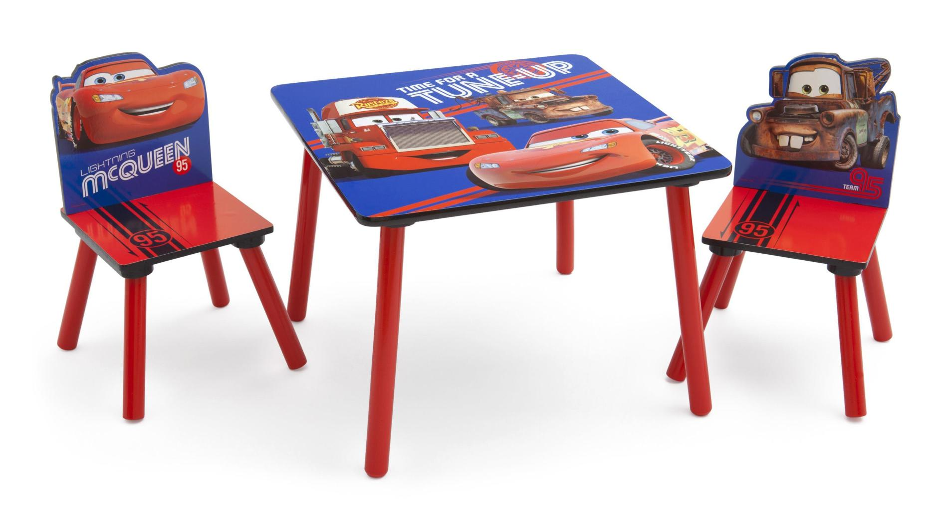 Disney Toddlers Cars Table  Chairs Set  Team 95