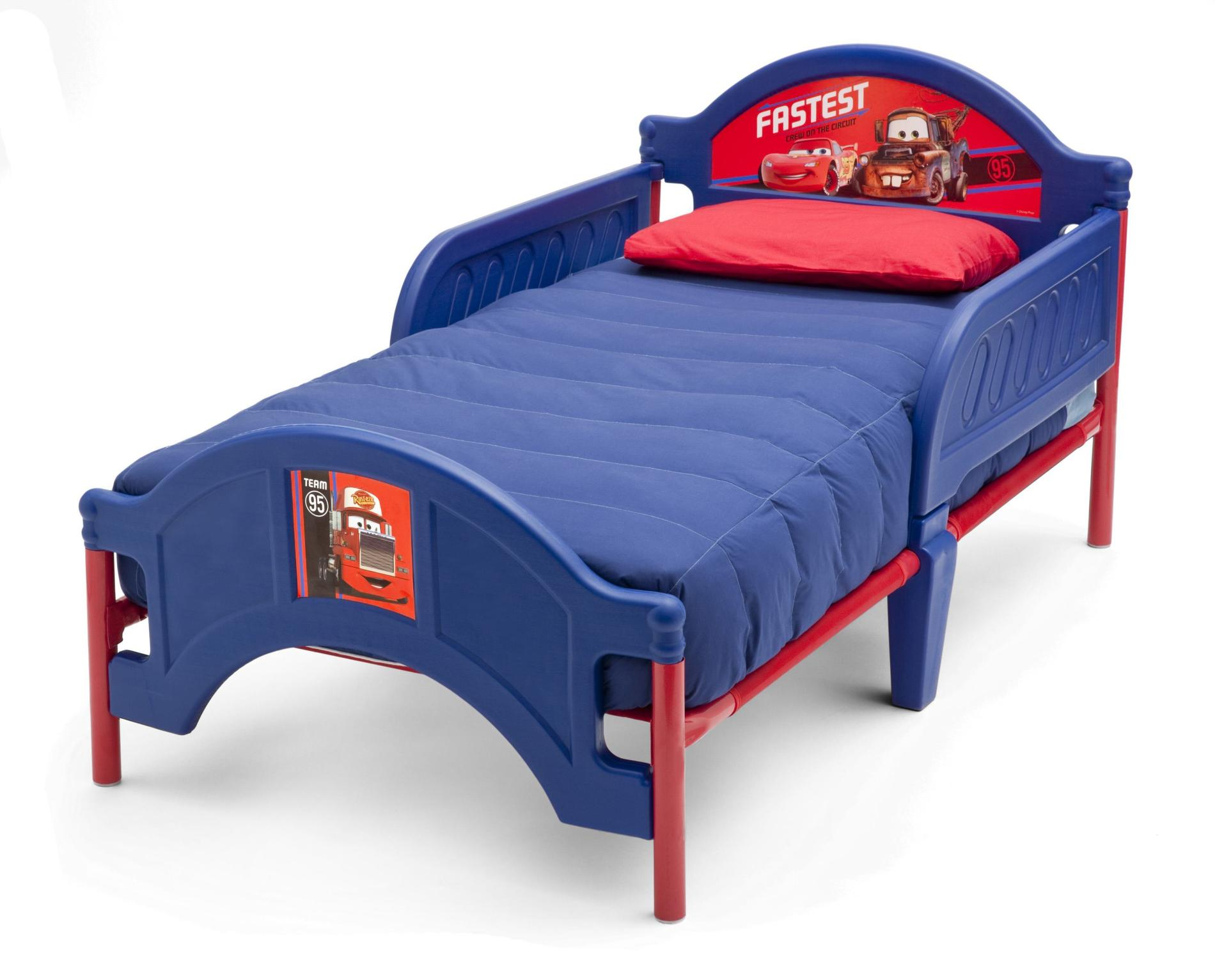 Disney Toddler S Cars Bed Team 95