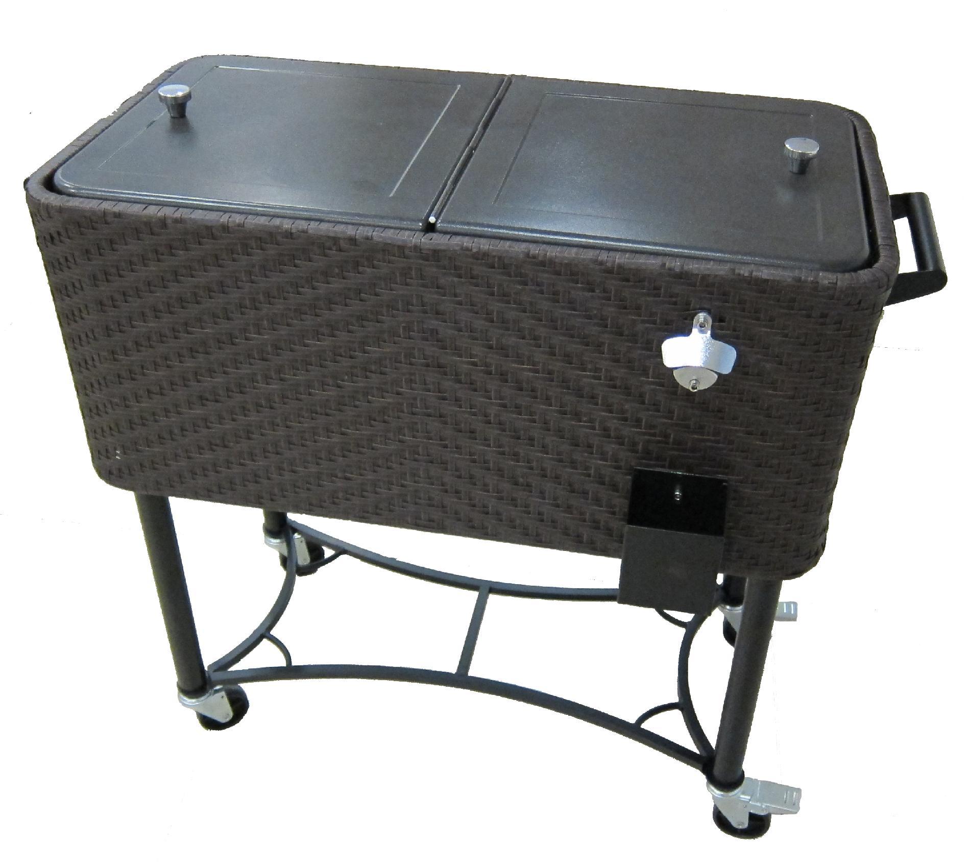 Ty Pennington Style Sunset Beach Wicker Cooler - Outdoor