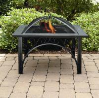 Essential Garden Square Fire Pit - Outdoor Living ...