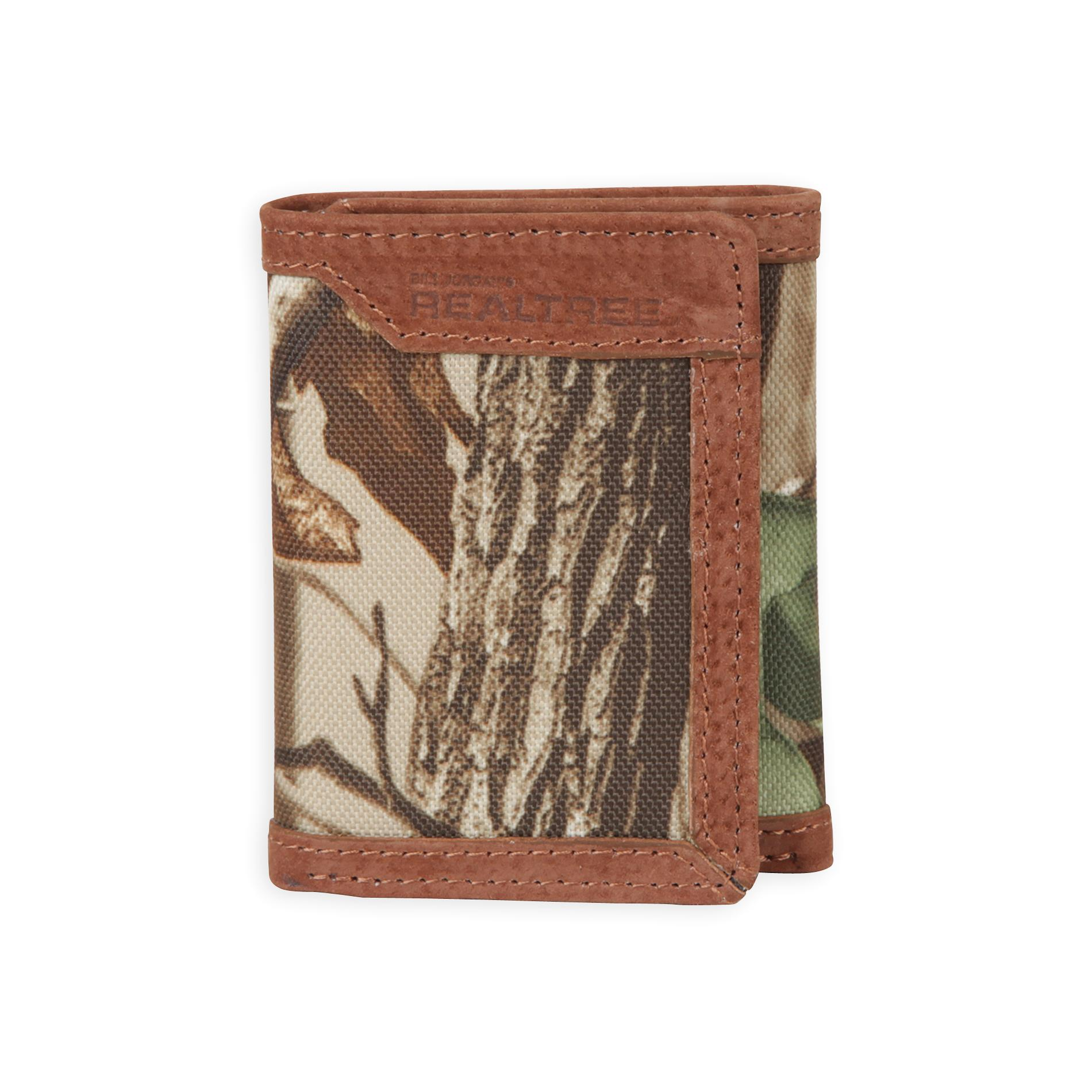 Realtree men s tri fold wallet deep woods camouflage clothing