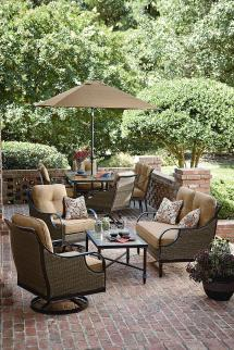 La-boy Charlotte 4 Piece Seating Set - Outdoor Living
