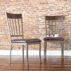 Safavieh Karna Dining Chair Amish Glider Rocking Oxford Creek Pontiac Mixed Media Side Set Of 2